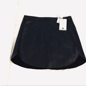 NWT LF ⚡️ Faux Leather Skirt